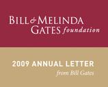 Bill and Melinda Gates Letter 2009