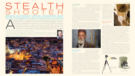 """PDN Magazine Feature of David Evans """"Stealth Shooter"""""""