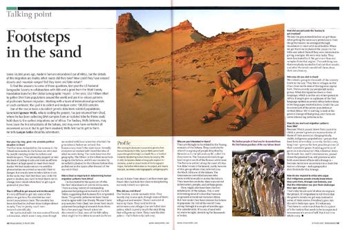 New Scientist Magazine - Spencer Wells