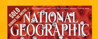 National Geographic magazine masthead